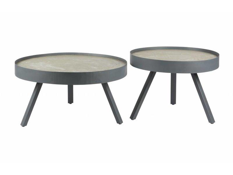 Salontafel beton medium