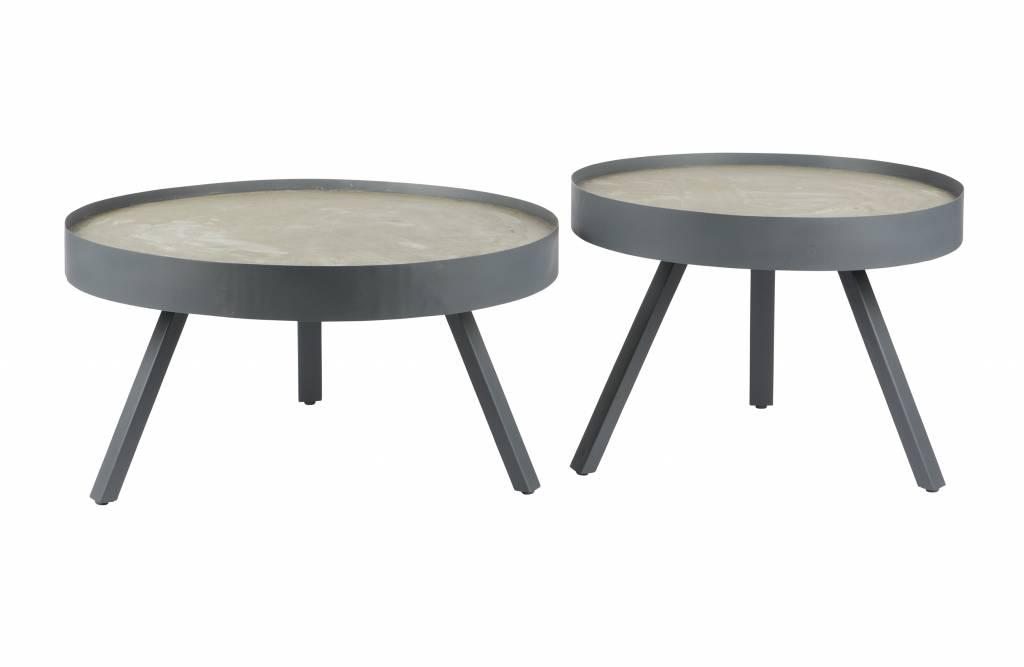 Salontafel Van Beton : Zenz salontafel beton medium zenz
