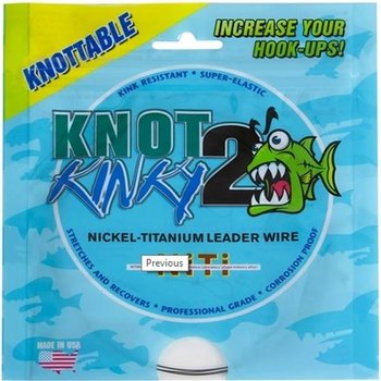 Knot2Kinky Titanium Leader Wire