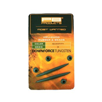 PB Products Downforce Tungsten Heli-chod Rubber & Beads
