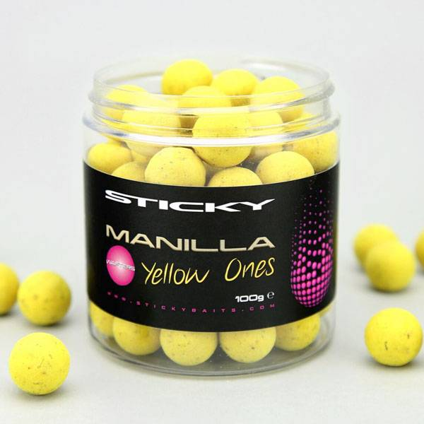 Sticky Baits Manilla Yellow Ones Wafters