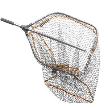 Savage Gear Pro Folding Rubber Large Mesh Landing Net