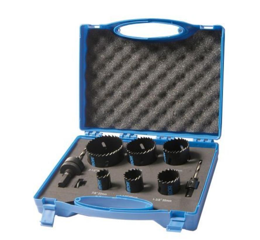 Cassette gatzaag Bi-metaal loodgieter pvc