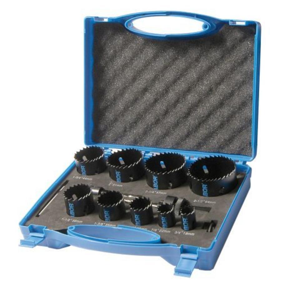 Cassette gatzaag Bi-metaal Monteur pvc