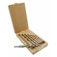 Machinale houtboor set 7 dlg. 4 - 12 mm