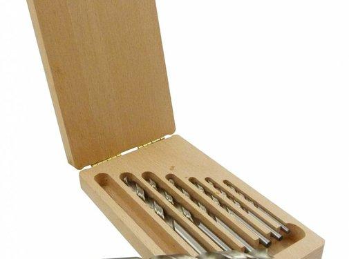Vector Machinale houtboor set 7 dlg. 4 - 12 mm
