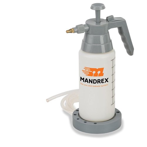 Mandrex Waterdrukfles