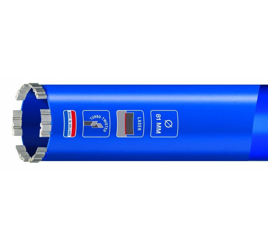 Diamantboor met m30 aansluiting speciaal ontwikkeld voor het boren in gewapend beton