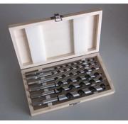 Labor Slangenboren cassette hout 6 delig