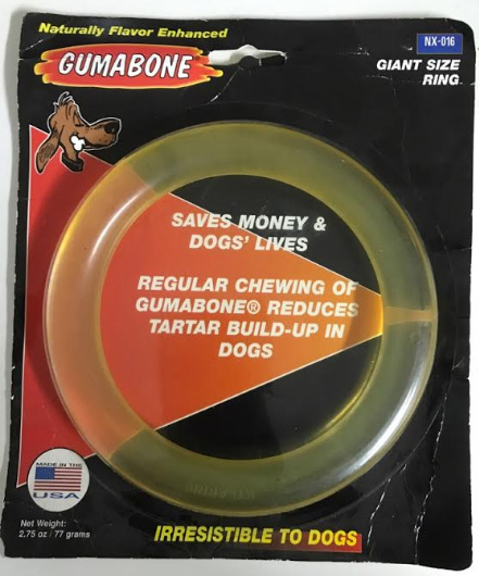 Nylabone Gumabone Ring Large met 50% korting