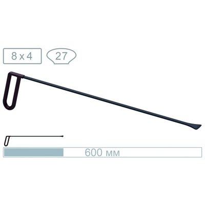 AV Tool 18014 60cm whale tail with a 27mm wide tip