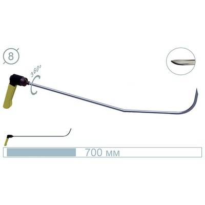 AV Tool 70 cm UZS Tool Scherp, handvat verstelbaar