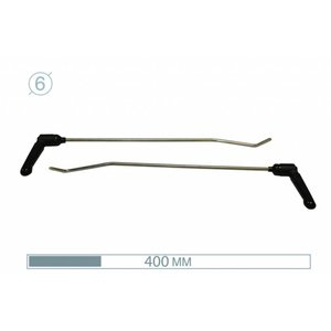 AV Tool 12006-2  50cm ø6 mm Brace Tool 2 pair 45° 15° adj