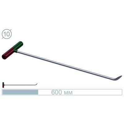 AV Tool 60 CM Stainless Rod 45° Bullet