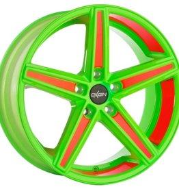 """Oxigin Wheels Oxigin """"18 Concave """" 8,5 x 18 """" Festigkeitsgutachten """"Neon"""""""