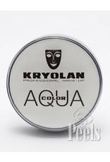 Kryolan Aquacolor 20ml - wit - kleurcode 070