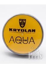 Kryolan Aquacolor 20ml - geel - kleurcode 509