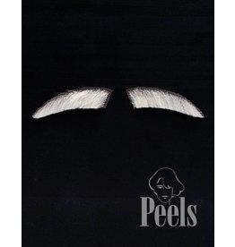 Peels haarmode Sint wenkbrauwen sluik