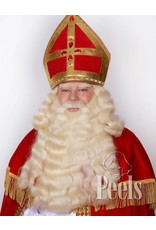 Peels haarmode Sint baard en pruik deluxe