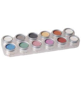 Grimas Oogschaduw Rouge Glitter Palette (P1)