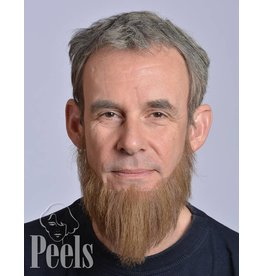 Kryolan Handgeknoopte volle baard, lang
