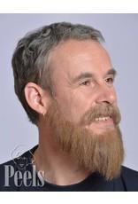 Kryolan Handgeknoopte volle baard van echt haar, lang, type 9237