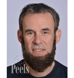 Kryolan Handgeknoopte volle baard, kort