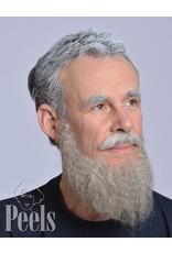 Kryolan Handgeknoopte volle baard van echt haar, type 9236