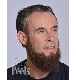 Kryolan Handgeknoopte volle baard, hoekig