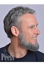 Kryolan Handgeknoopte volle baard van echt haar, type 9234