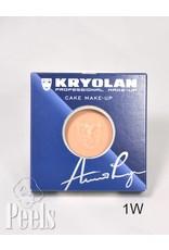 Kryolan Cake make-up kleur 1W