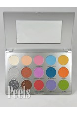 Kryolan Viva Brilliant Color Palette, 15 colors, kleur FR