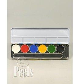 Kryolan Aquacolor palette kleur A