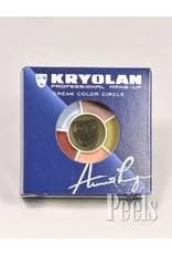 Kryolan Cream color circle, Death