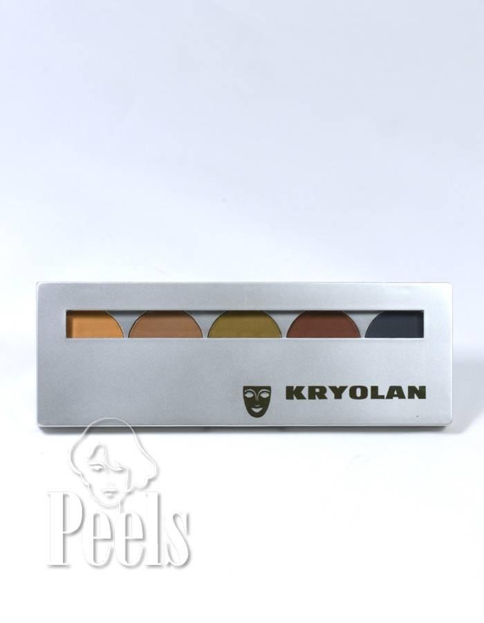 Kryolan Shades, kleur Santiago, 5 colors