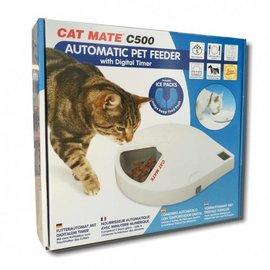 Cat Mate Voederautomaat met digitale tijdklok C500