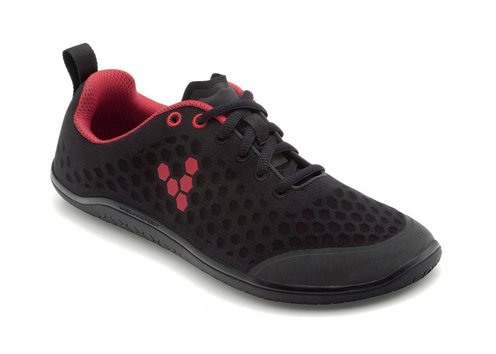 Vivobarefoot Stealth Black / Red