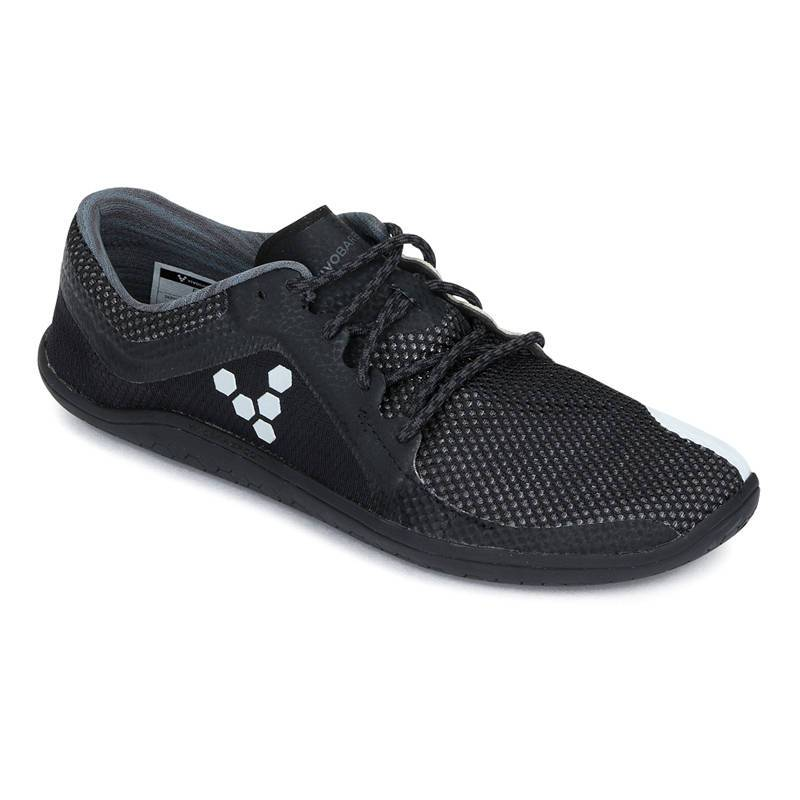 Vivobarefoot Primus Road - Black/White