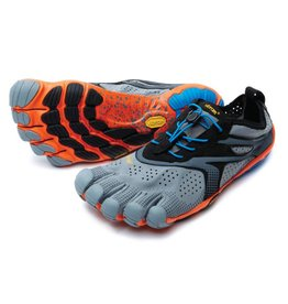 Vibram FiveFingers V-Run - Grey / Blue - Heren