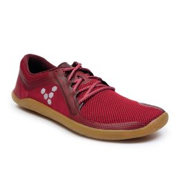 Vivobarefoot Primus Road - Chilli Pepper / Rood - Dames