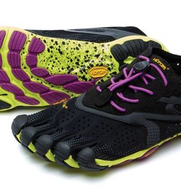 Vibram FiveFingers V-Run - Black / Yellow - Dames