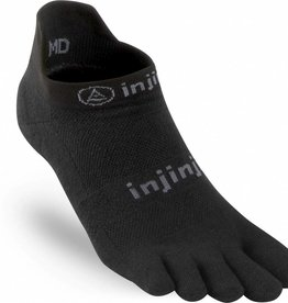 Injinji RUN Performance 2.0 - Lichtgewicht teensokken - No Show - Black
