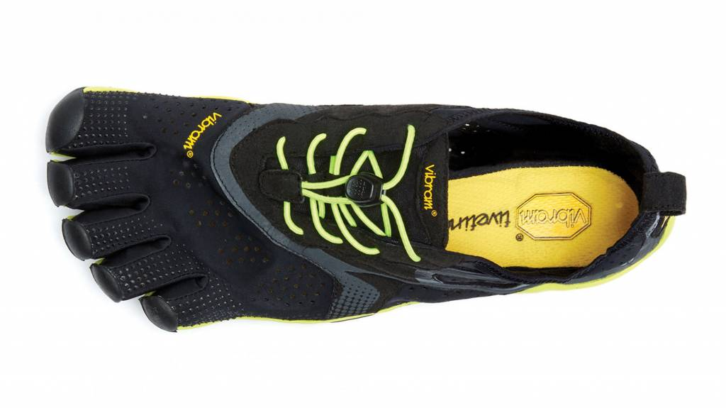 Vibram FiveFingers V-Run - Black / Yellow - Heren