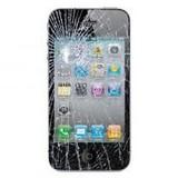 iPhone 4S glas gebroken of touch defect