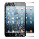 iPad mini glas gebroken of touch defect