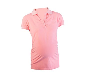 Active Mama Polo shirt coral