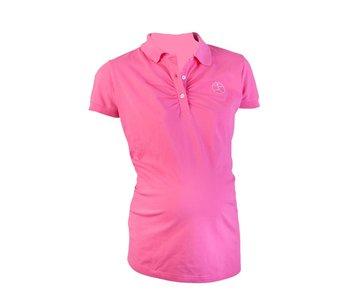 Active Mama Poloshirt roze