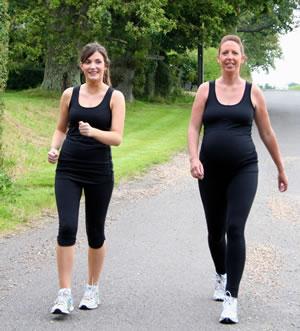 Wandelen tijdens je zwangerschap