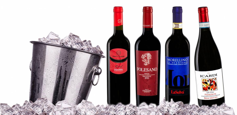 koude rode wijn