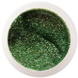 50 / Glitter Farbgel apple green